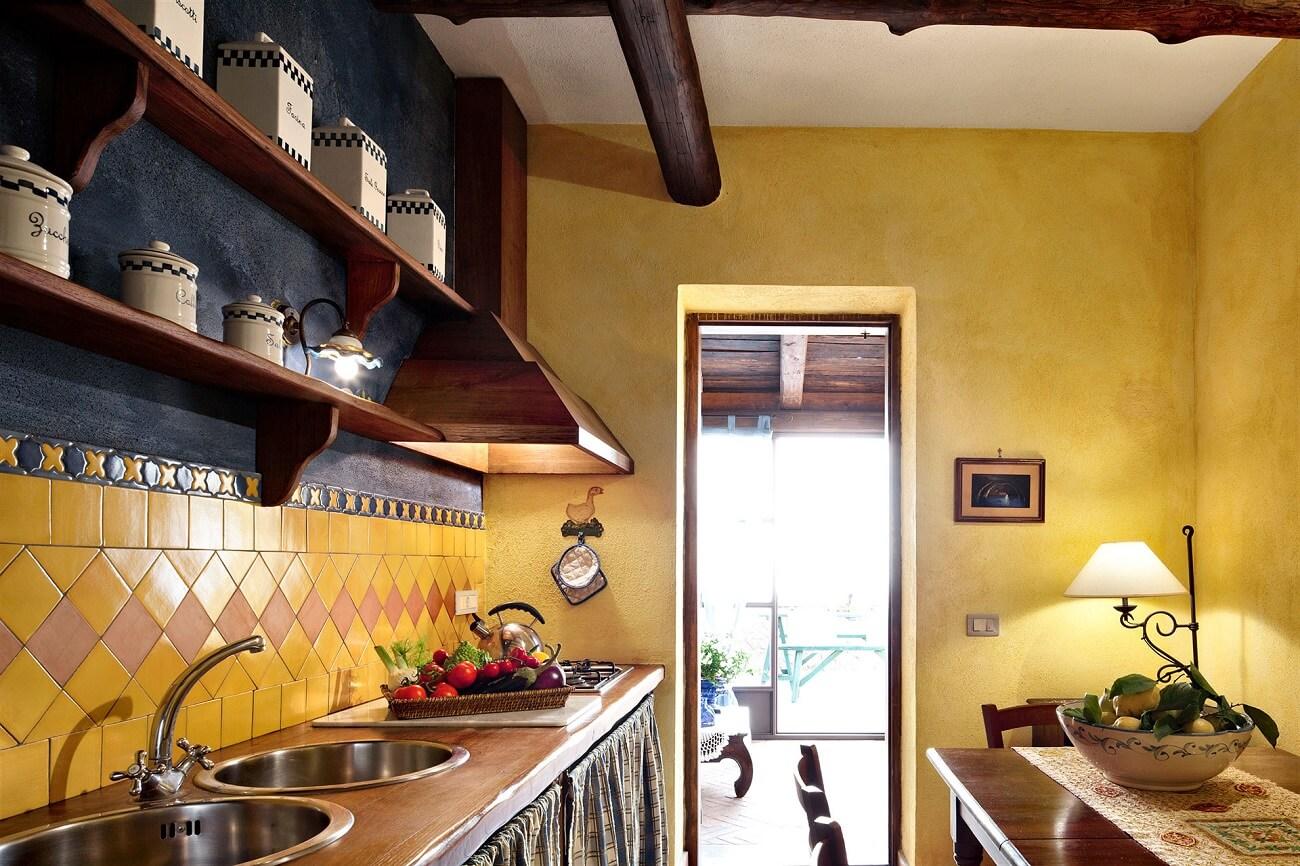 kitchenette classic style, primula apt