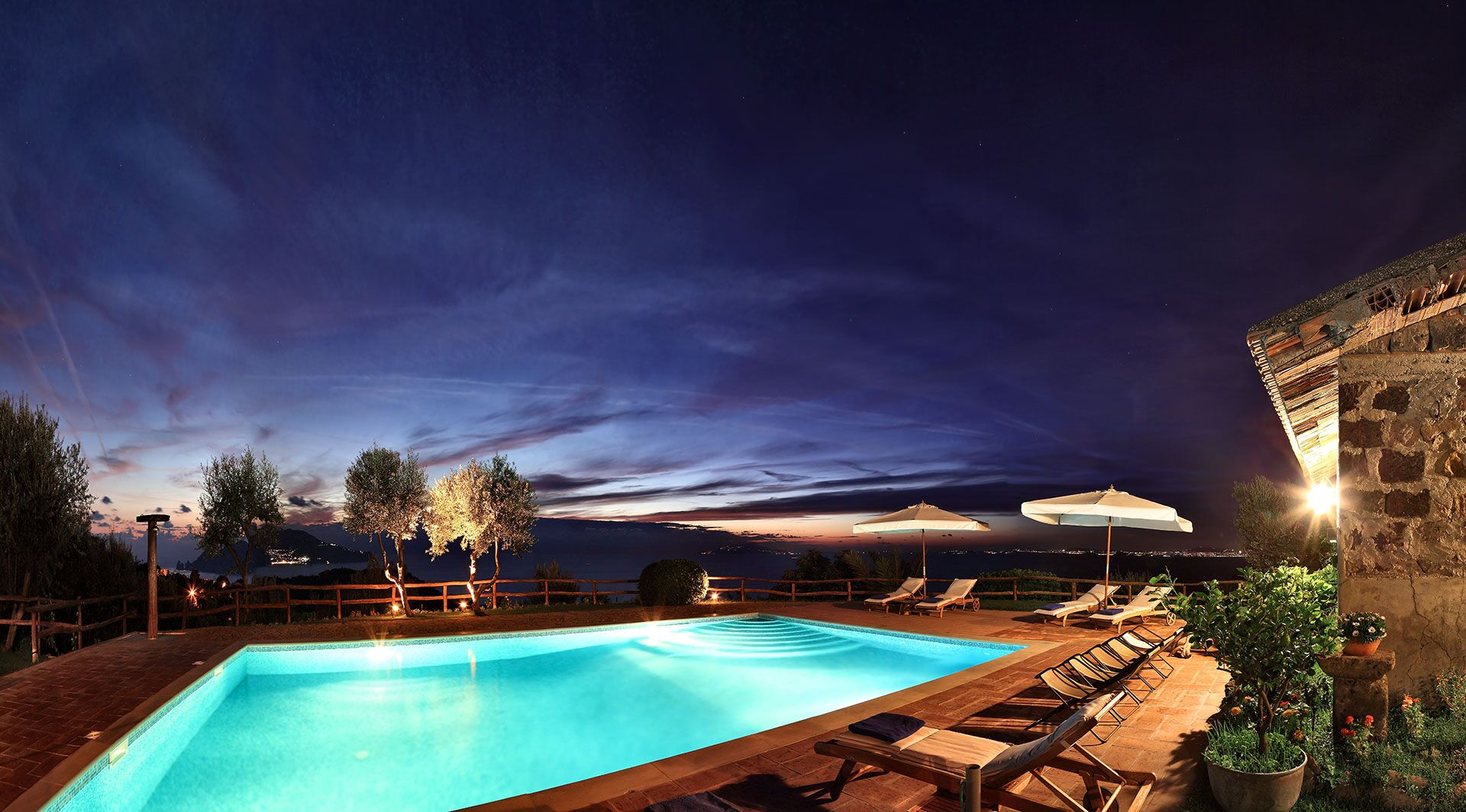 Our Wonderful Panoramic Pool at Nights